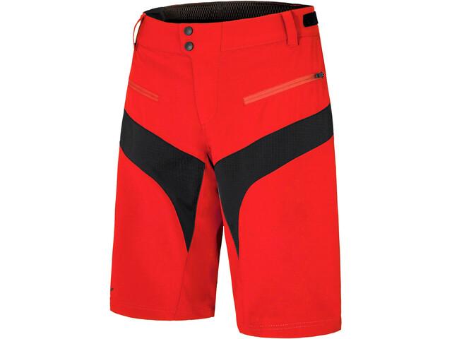 Ziener Nischa X-Function Shorts Men, new red